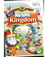 Nintendo Wii Game Disc MY SIMS KINGDOM - $5.95