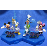 Tokyo Disney Resort 25th Anniversary Mickey Minnie Goofy Donald Figure C... - $55.44