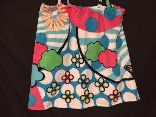 No Boundaries Towel Wrap Robe Flower Print size XL - $8.79