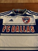 Adidas FC Dallas jersey/ Child Size 7-8/ Preowned / Vintage MLS Patch - $9.99