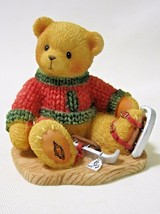 Cherished Teddies JEROME Can't Bear The Cold Without You Avon 546534 IOB - $12.99
