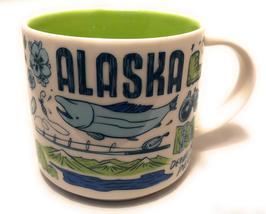 Starbucks 2018 Alaska Been There Collection Coffee Mug NEW IN BOX - $38.50