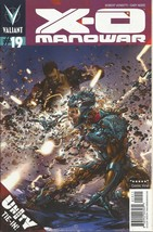 (CB-14} 2013 Valiant Comic Book: X-O Manowar #19 - $3.00