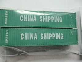 Fox Valley Models # FVM 891103 China Shipping 40' Corrugated Container 2/Pack (N image 1