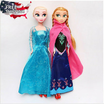 2Pcs Frozen Elsa & Anna Disney Princess Plush Doll Christmas Xmas Birthd... - $111.74