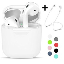 Vorida Case for AirPods, Silicone Protective Cover for Apple Airpods Cha... - $20.11