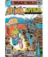 Brave and the Bold Comic Book #147 DC Batman and Supergirl 1979 NEAR MINT - $10.69