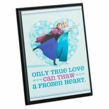 Hallmark Disney Frozen Elsa and Anna Plaque New - $19.37