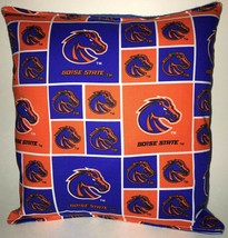 Boise State Pillow Boise Football Pillow NCAA HANDMADE In USA - $9.97