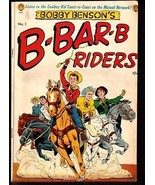 BOBBY BENSON'S B-BAR-B RIDERS #1-ME COMICS-POWELL ART FN - $181.88