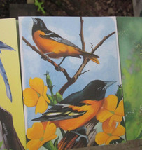 MICHAEL HEGEDUS BIRD NOTE CARDS Lot of 6 NOTECARDS New Old Stock 1996 - $4.27