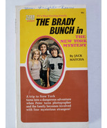 The Brady Bunch The New York Mystery by Jack Matcha Tiger Beat PB 1972 1st - $7.25