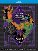 JoJo's Bizarre Adventure Set 1: Phantom Blood and Battle Tendency - $66.29