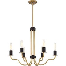 Quoizel SDE5006WS Stride Luxe Chandelier, 6-Light, 600 Watts, Weathered ... - $117.29
