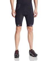 Canari Cyclewear Men's Trinity Shorts, Black, Medium