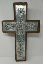 Handmade Wall Cross Wooden Catholic Wall Crucifix Home Wall Decor Made I... - $114.38