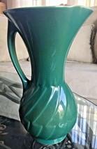 "Vintage Roseville USA Mayfair Green Vase #1106-10"" Circa 1952 - $39.99"
