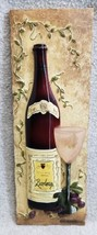 "Kate McRostie 3D Resin Wall Plaque Red Wine Grape 9.5"" x 3"" French Count... - €7,30 EUR"