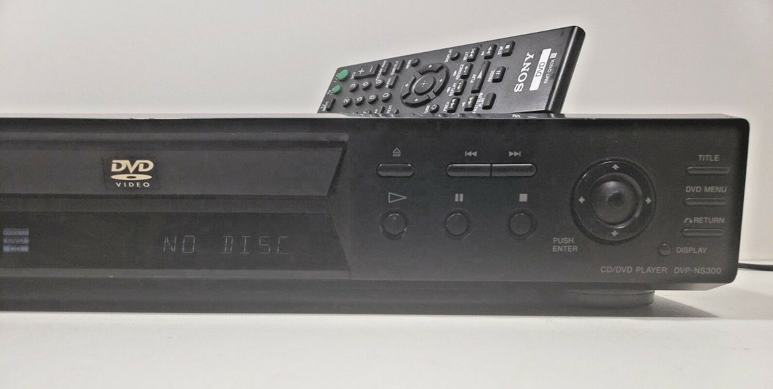 Sony DVP-NS300 CD/DVD/Video CD Player.. Tested with Remote image 3