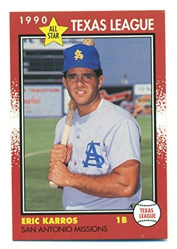 1990 Texas League All-Star 38 Card Set with Eric Karros Steve Decker - Baseball