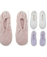 Wamsutta Ultra Plush Memory Foam Footies Slippers One Size Fits Most - $19.97