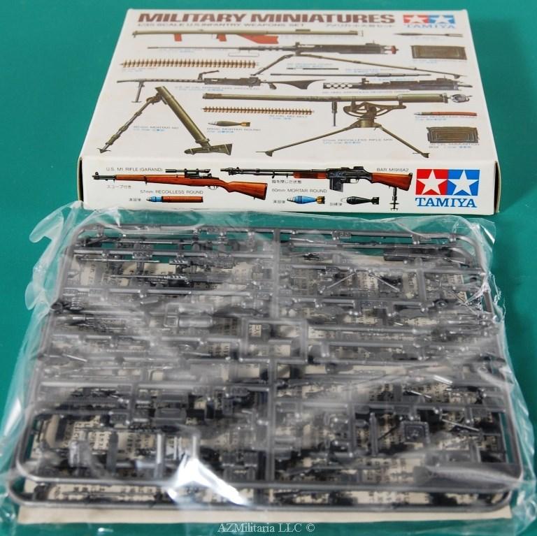1/35 U.S. Infantry Weapons Set Kit No. MM221 Series No. 121