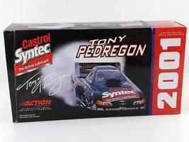 Action Tony Pedregon CASTROL SYNTEC MUSTANG FUNNY CAR 1:24 Diecast 2001 NIB - $39.59