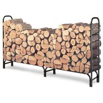 8 Foot Rack Wood Storage Organizer Log Holder Garden Fireplace Outdoor B... - $87.27
