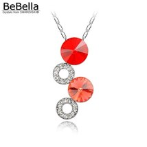BeBella fantasy bubble pendant necklace Made with Crystals from Swarovski for wo image 4