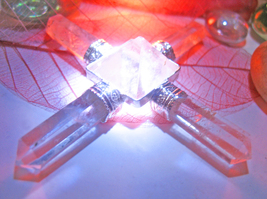 Haunted FREE w/ $49 CRYSTAL ENERGY GENERATOR PYRAMID MAGICK 925 Cassia4  - $0.00