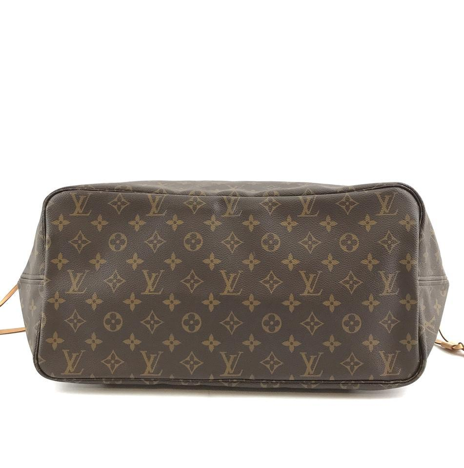 #32322 Louis Vuitton Neverfull Neo Nm Large Gm Tote Work Canvas Shoulder Bag image 5