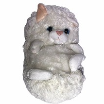 "Jay Play White Cat Plush 15"" Hideaway Pets Stuffed Animal Kids Kitty Toy... - $9.89"