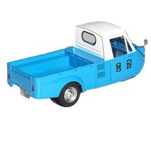 Academy 15141 T600 Tricycle Three Wheeler Truck 1969 Plastic Hobby Model Kit image 4
