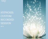 HYPNOSIS: CUSTOM Recorded Session MP3; Quit Smoking; Pain; Stress; Confidence; W - £8.95 GBP