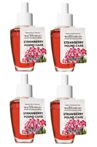 Bath & Body Works Strwberry Pound Cake Wallflower Home Fragrance Refill ... - $23.35