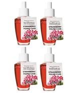 Bath & Body Works Strawberry Pound Cake Wallflower Home Fragrance Refill... - $22.99