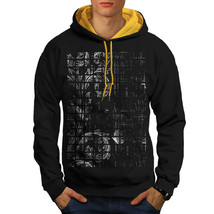 Leaf Plant Art Fashion Sweatshirt Hoody Chamber Rose Men Contrast Hoodie - $23.99+