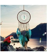 Dream Catcher Handmade Traditional Feather Wall Hanging Wedding Home Dec... - $13.31