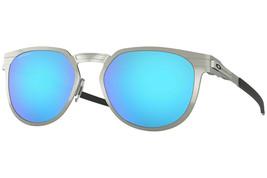 Oakley Perforadora Hombre/Mujer Gafas de Sol Oo4137-04 Cromo / Prizm Zafiro - $209.07