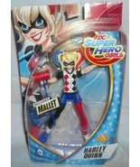 "DC Super Hero Girls 6"" HARLEY QUINN Action Figure Doll DC Comics 6+ New ... - $12.38"