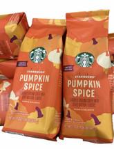 2 Starbucks Pumpkin Spice Flavor Ground Coffee Limited Edition Exp 2022 17 oz - $42.99