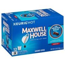 Maxwell House Original Blend Coffee, Medium Roast, K-Cup Pods, 12 count - $8.94