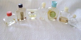 Assorted Lot of Designer Colognes  Miniature Collectible Bottles (Empty) - $18.00