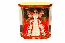 1997 Barbie Doll Collection Holidays Special Dress Gold Lining Vinyl Silicone - $52.46