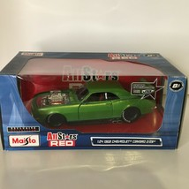 Maisto All Stars Red 1968 Chevrolet Camaro 2/28 Car 1:24 Exclusive Collection - $54.99