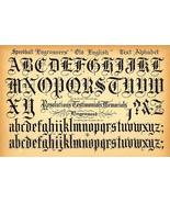 Speedball Pen - Old English Text Alphabet - 1957 - Lettering Calligraphy... - $9.99+