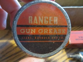 SOLD ONLY BY SEARS ROBUCK AND CO. RANGER GUN CLEANING OUTFIT BOX KIT - $19.00