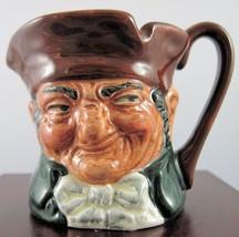 "Royal Doulton Mini Character Jug ""Old Charley""  D6046 -ETC - $61.74"