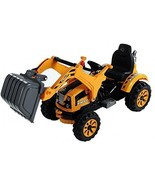 Electric 6V Ride On Toy Digger Excavator Construction Tractor Kids Boys ... - $266.22