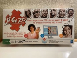 jiGaZo Build Your Own Personalized Mosiac Puzzle Again & Again 300pc New Sealed - $14.75